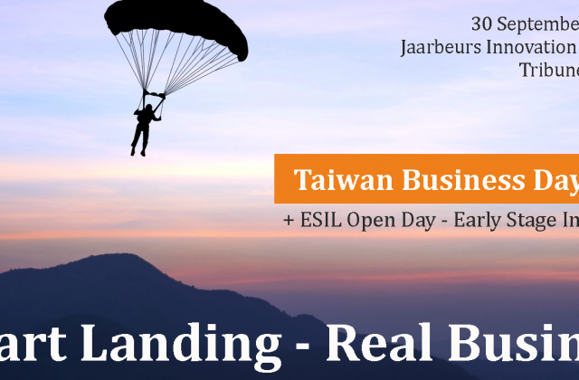 Banner Taiwan Business Day 2019 + ESIL Open Day